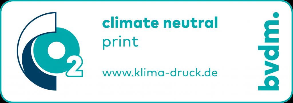 Ökologisch drucken, Umwelt, Umweltbewusst, CO2, Klimaneutral
